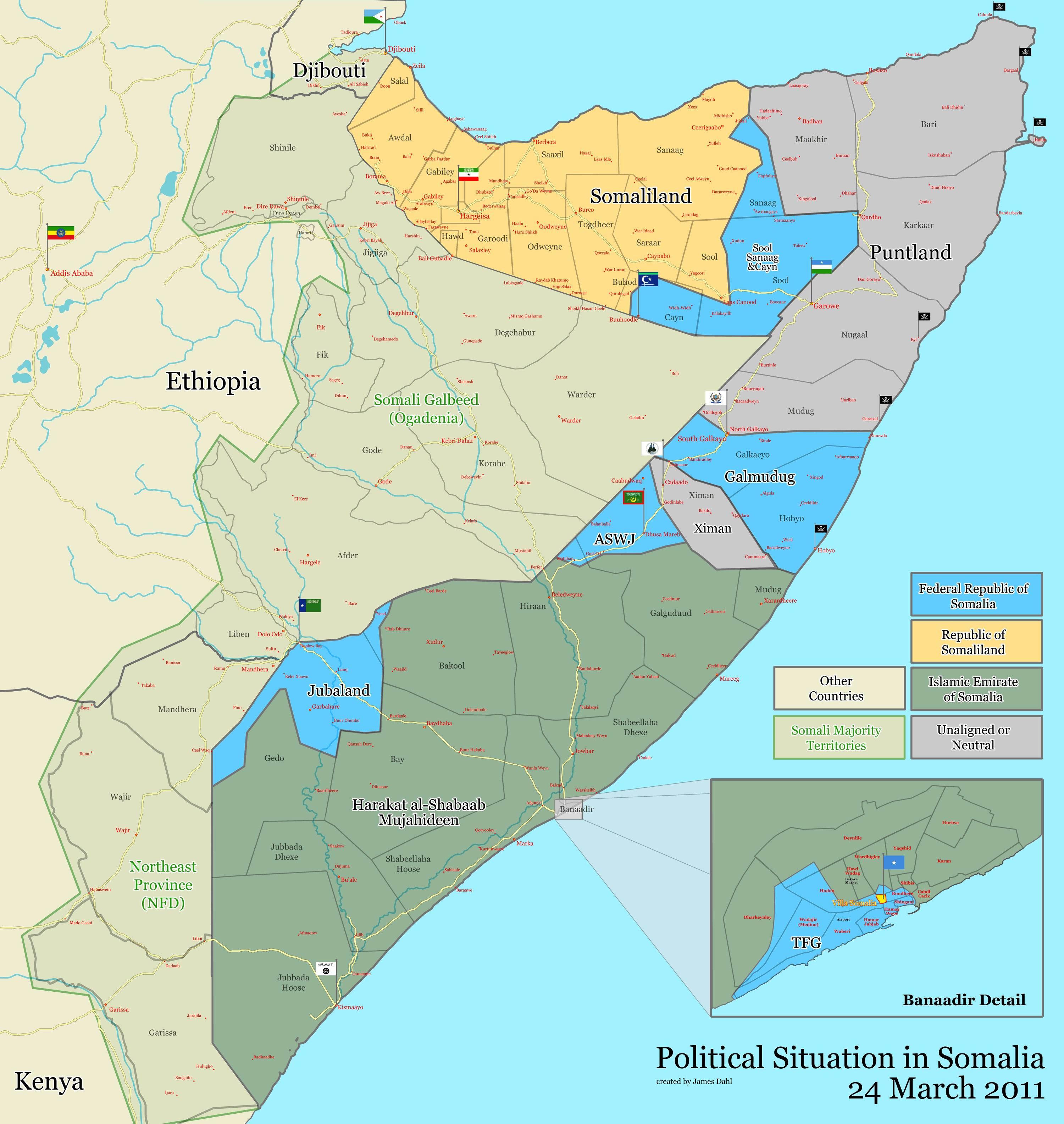 Somalia maps