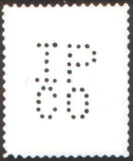 Canada Perfins Stamps